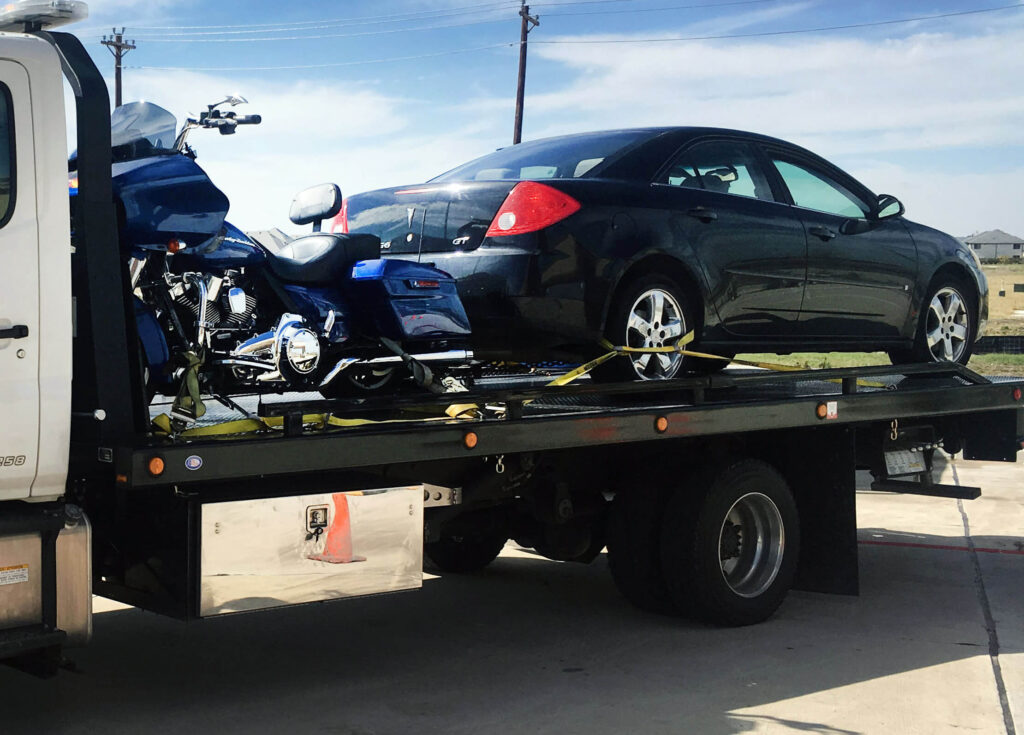 Local Motorcycle and Vehicle Towing